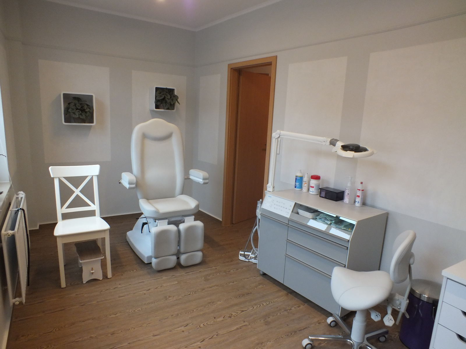 Podologie Zarrentin Praxis Behandlungsraum